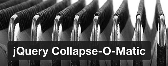 Accordion Plugin Collapse-o-Matic