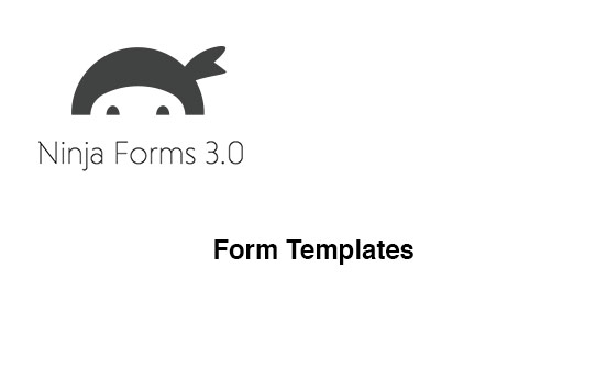 Ninja Forms default Form templates