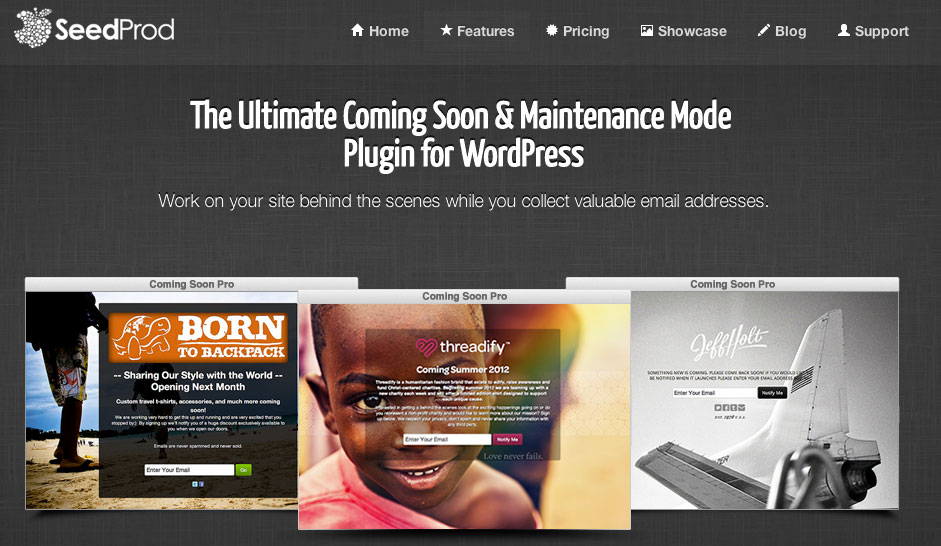Coming Soon Pro WordPress Plugin