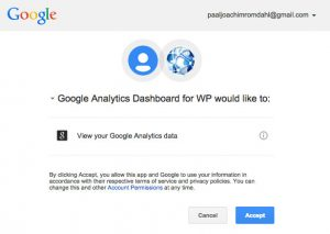 Google Analytics Dashboard WP View Google Analytics Data