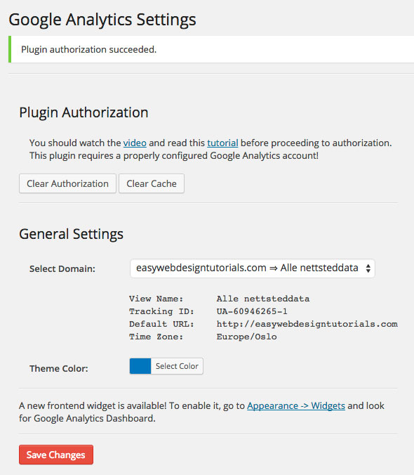 6-Google-Analytics-Dashboard-WP-Plugin-authorization-succeeded