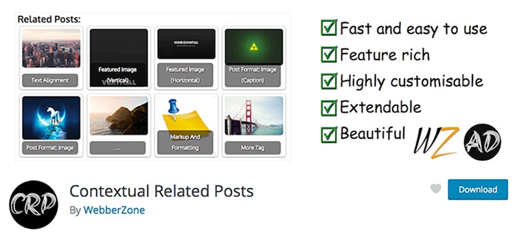 Contextual Related Posts WordPress plugin banner