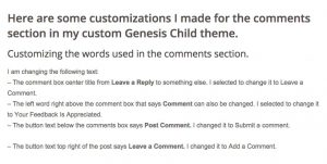 Customizing-Comments-section-Wordpress-Genesis-Themes