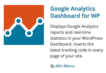 Google Analytics Dashboard For WP logo