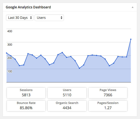 Google-Analytics-Dashboard-WP-Stats-Dashboard