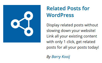Related Posts For WordPress logo