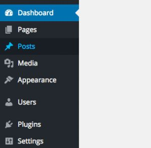 Reordering left admin menu WordPress