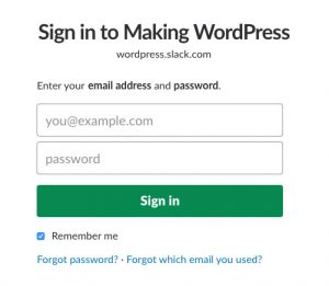 Sign-in-to-Making-WordPress-slack