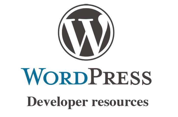 WordPress developer resources