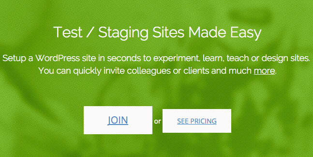 qSandbox Staging sites made easy.