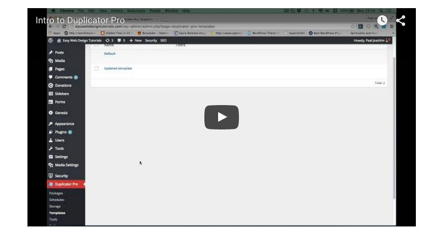 Right video embed with the size 900x430 in WordPress